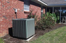 HVAC outside home