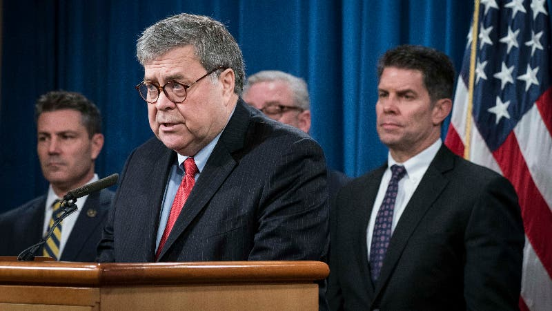 Attorney General Barr announces charges made against members of Chinese military