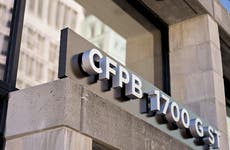 The CFPB building.