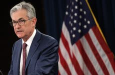 Federal Reserve Chairman Jerome Powell speaks at press conference