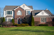 Midwest suburban home Wisconsin