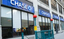 A Chase Bank branch in New York City.