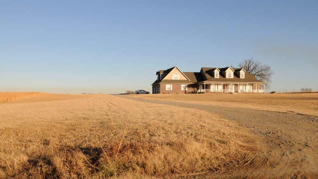 Farmhouse in Oklahoma