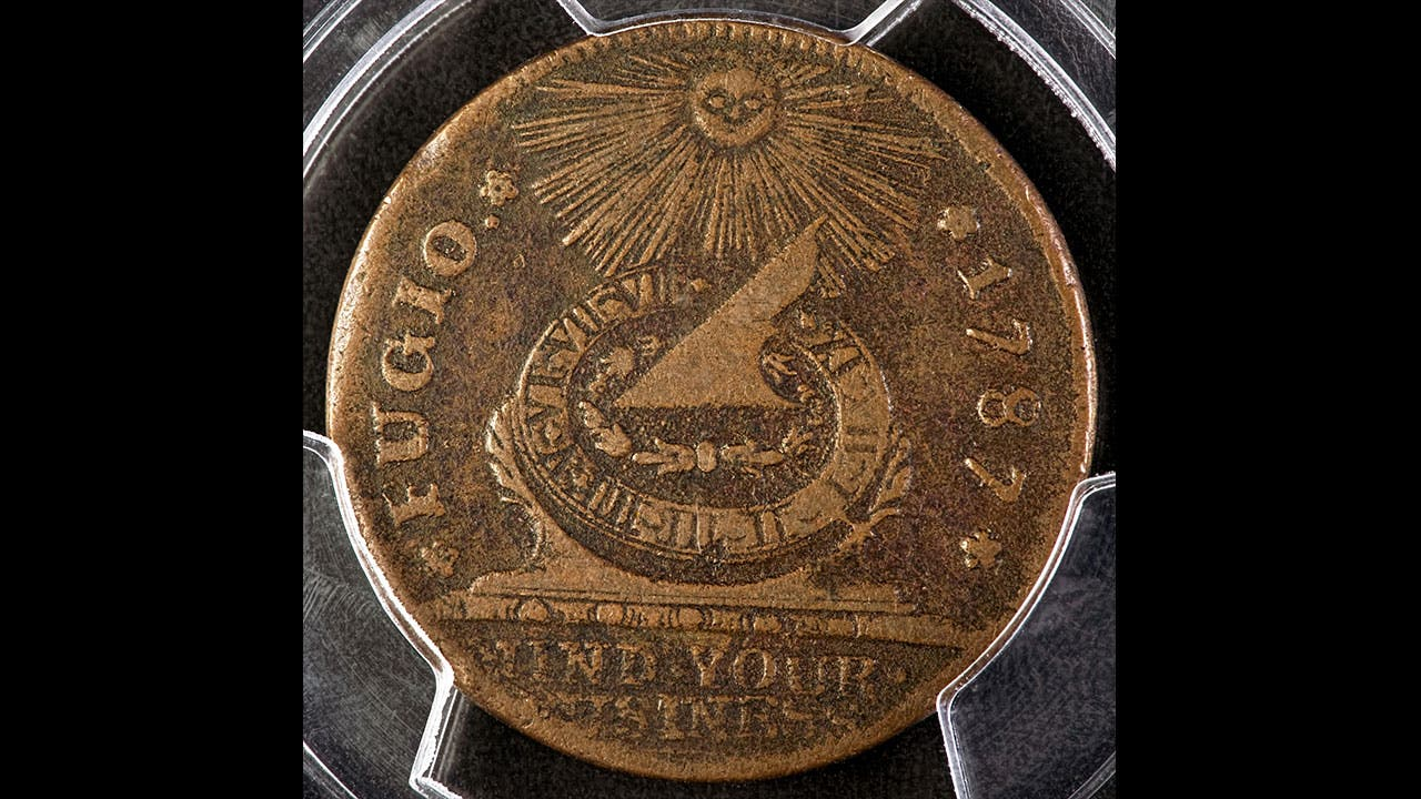 A version of the Fugio cent