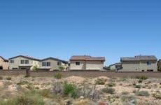 A neighborhood of single-family homes in Nevada.