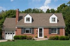 A small suburban home