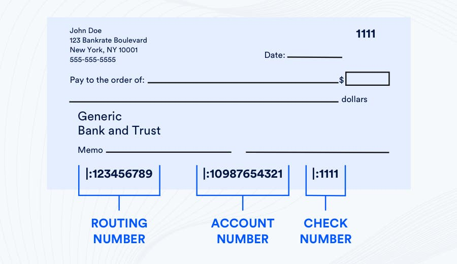 What Is The Routing Number On A Check And How Does It Work? | Bankrate