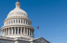 The rotunda on Capitol Hill